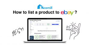 How to list a product to eBay on Ricemill